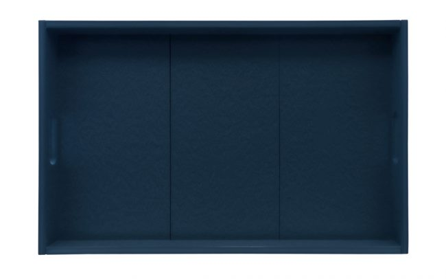 Gate House Furniture Navy ECO Rectangle Serving Tray
