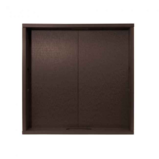 Gate House Furniture Brown ECO Square Serving Tray