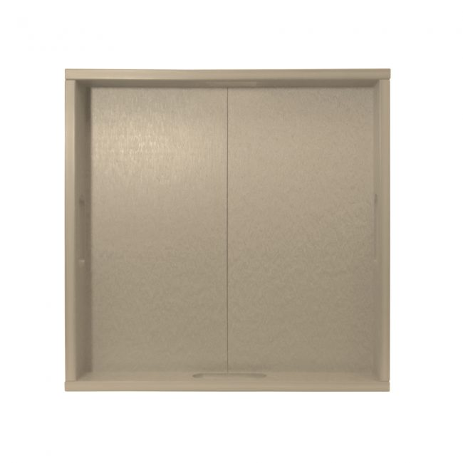 Gate House Furniture Taupe ECO Square Serving Tray