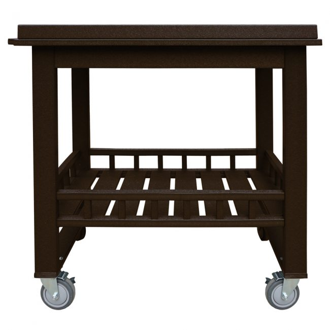gate house furniture brown eco cart